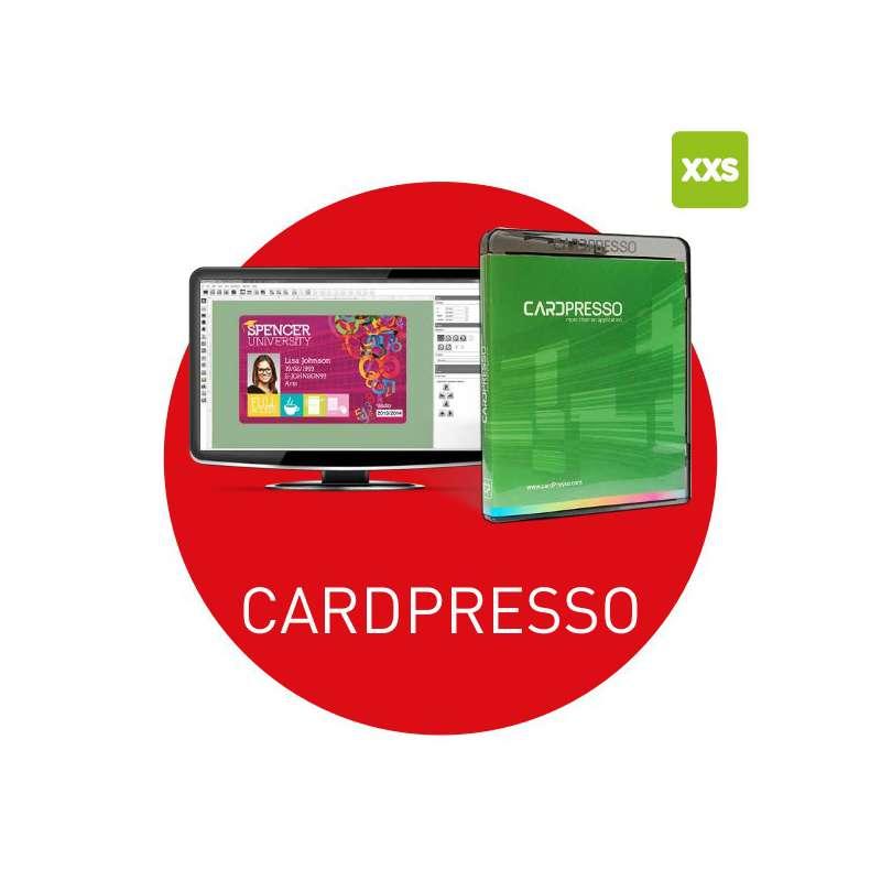 Logiciel badges Cardpresso XXS