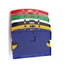 Porte-badge rigide ouvert 1 carte modèle horizontal - IDP 65 H