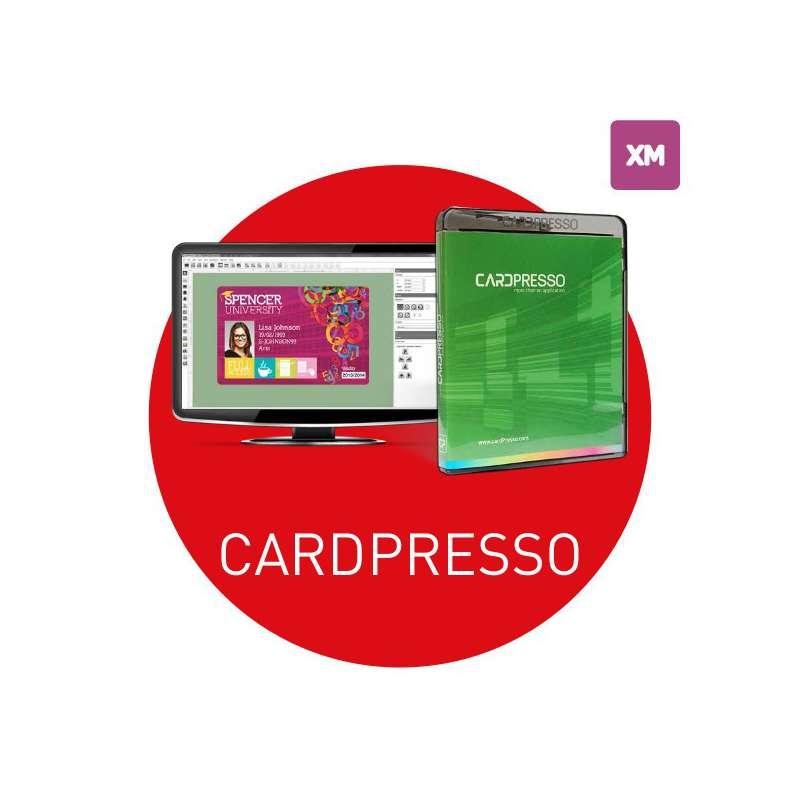 Logiciel badges Cardpresso XM - MS ACCESS