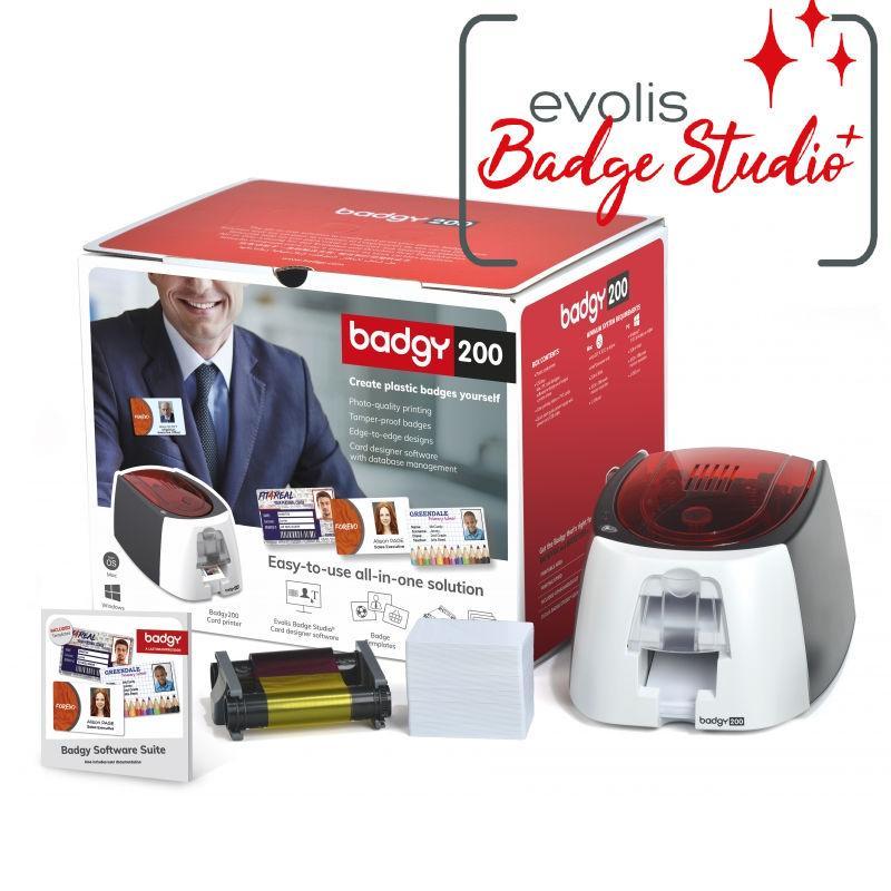 imprimante badges Evolis Badgy 200