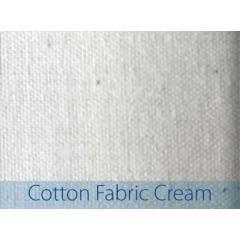 Etiquettes DTM 102 x 76 mm tissu coton blanc