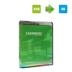 Mise à jour Cardpresso XXS vers XS