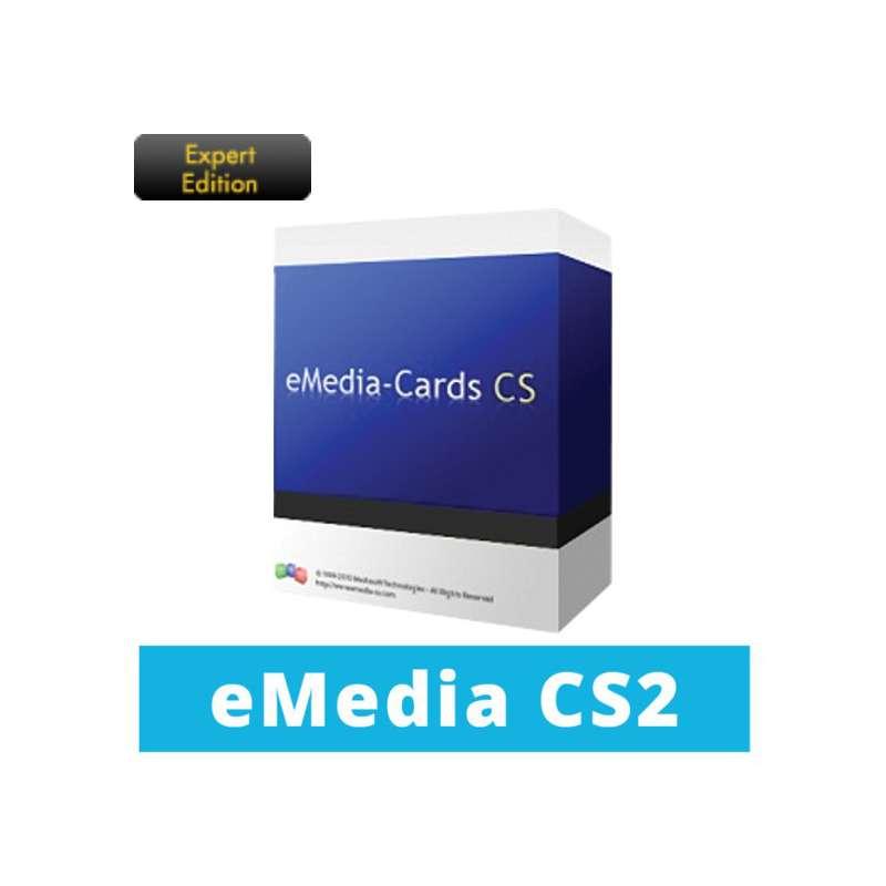 Logiciel badges eMedia Card Designer Expert Edition CS2