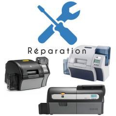 Service réparation imprimantes cartes Zebra ZXP7, ZXP8, ZXP9