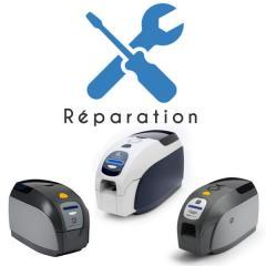 Service réparation imprimantes cartes Zebra ZXP1, ZXP3