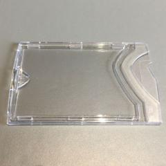 Étui-cartes rigide cristal recto