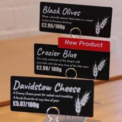 étiquettes PriceCardPro Flex