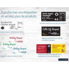 étiquettes Magicard PriceCardPro Flex