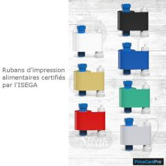 Ruban Magicard bleu PriceCardPro