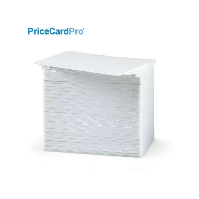 Cartes, étiquettes de prix blanches PriceCardPro