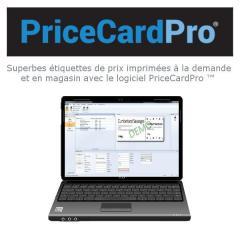 Logiciel PriceCardPro - Création étiquettes de prix