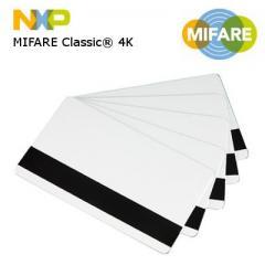Cartes MIFARE Classic® 4K NXP magnétique HiCo