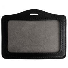 Porte badge et carte aspect cuir