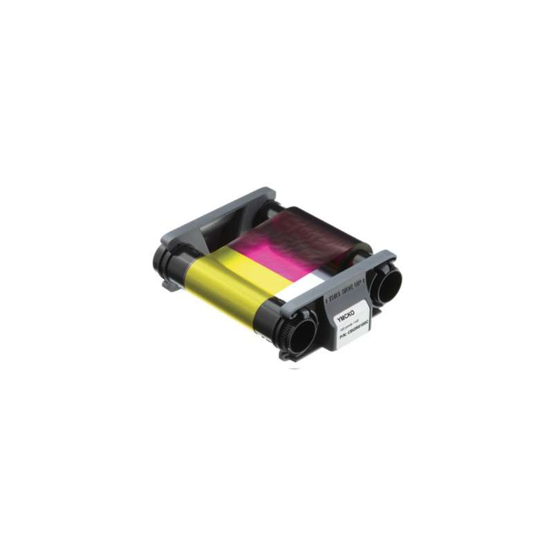 Ruban couleur YMCKO Evolis Badgy100, badgy 200 - 100 faces