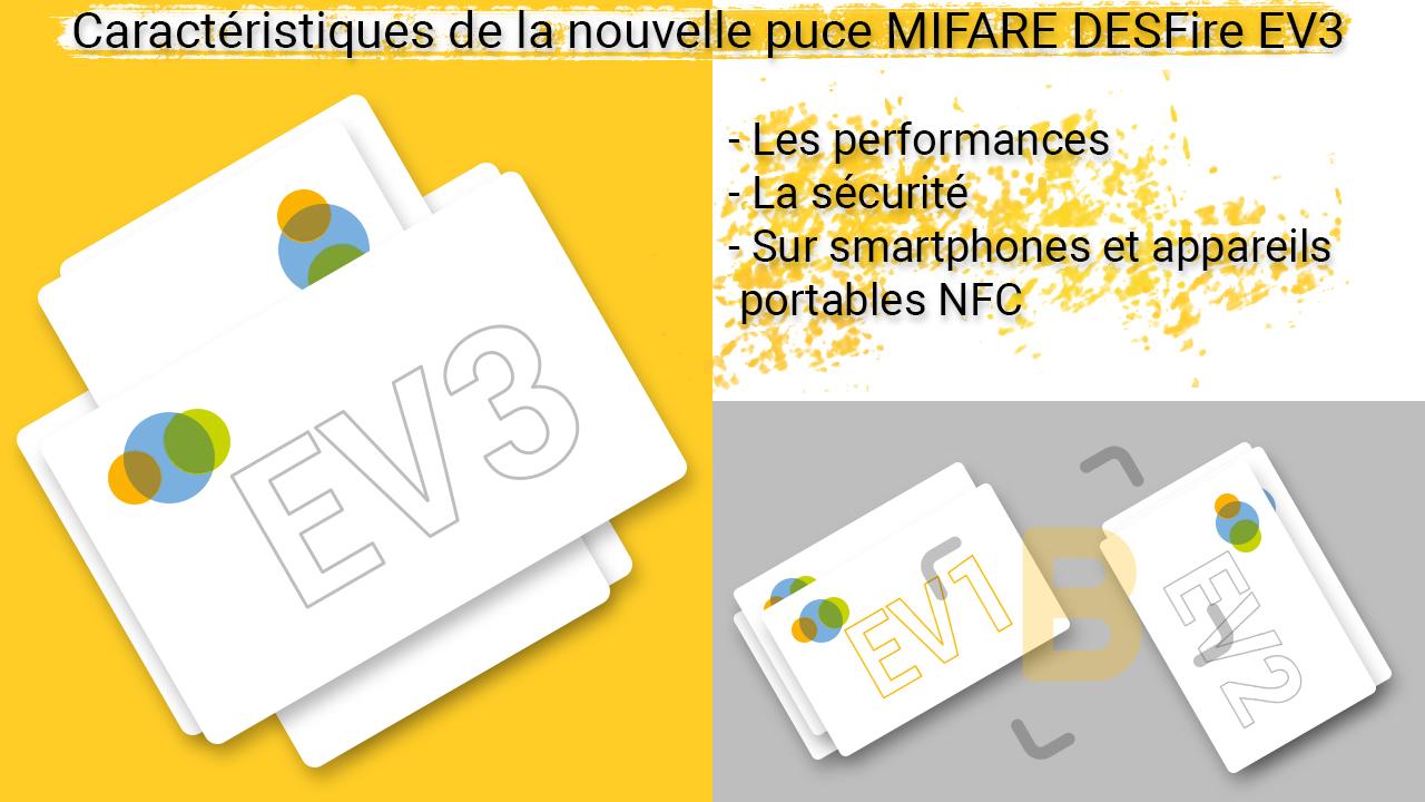 Puce MIFARE DESFire EV3 | Les caractéristiques